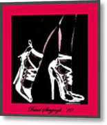 High Heels Metal Print by David Skrypnyk