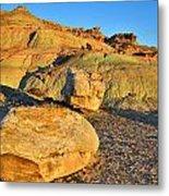 Highway 191 Dunes Metal Print