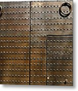 Historic Door Metal Print