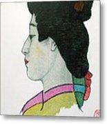 Hotsuko Metal Print
