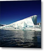Icebergs-jokulsarlon Glacial Lagoon Metal Print