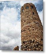 Indian Watchtower Grand Canyon Metal Print