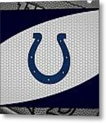 Indianapolis Colts Metal Print by Joe Hamilton