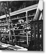 Interior The Old Store Pearce Mercantile Ghost Town Pearce Arizona 1971 Metal Print