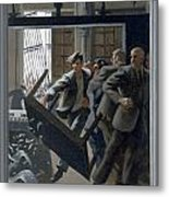 3. Jesus Drives Out The Money Changers / From The Passion Of Christ - A Gay Vision Metal Print