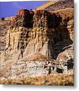 John Day Fossil Beds Nations Monuments Metal Print by Shiela Kowing