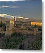 La Alhambra Granada Spain Metal Print