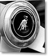 Lamborghini Steering Wheel Emblem Metal Print