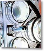 3 Lenses In Negative Metal Print