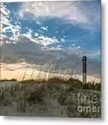 Sc Lighthouse View Metal Print