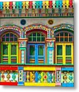 Little India - Singapore Metal Print