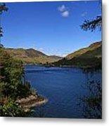 Loch Duich Scotland Metal Print