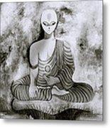 Lotus Position Metal Print