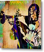Louis Armstrong Collection Metal Print