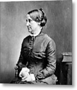 Lucy Hayes (1831-1889) Metal Print