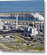 Maasvlakte, Europort, Rotterdam Metal Print