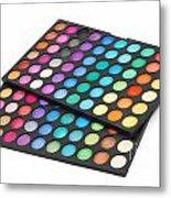Makeup Color Palette Metal Print