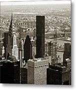 Manhattan  Metal Print