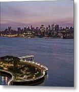 Manhattan Sunrise Metal Print