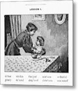 Mcguffey's Reader, 1879 Metal Print