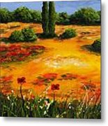 Mediterranean Landscape Metal Print