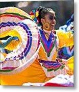 Mexican Folk Dancers Metal Print