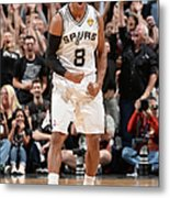Miami Heat V San Antonio Spurs - 2014 Metal Print