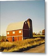 Michigan Barn Metal Print