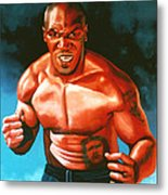 Mike Tyson Metal Print by Paul Meijering
