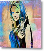 Miranda Lambert Collection Metal Print