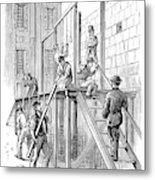 Molly Maguires Executions Metal Print