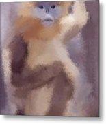 Monkey Business Metal Print by Karen Larter