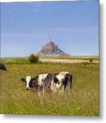 Mont Saint-michel - Normandy Metal Print