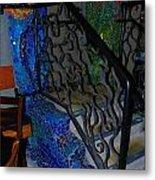 Mosaic Doorway Metal Print by Charles Lucas