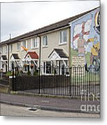 Mural In Shankill, Belfast, Ireland Metal Print