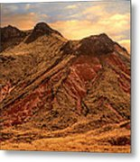 Navajo Nation Series Along 87 And 15 Metal Print