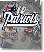 New England Patriots Metal Print by Joe Hamilton