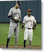 New York Yankees v Houston Astros Metal Print