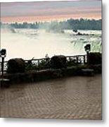 Niagara Falls Sunrise Metal Print by Jessica Cirz