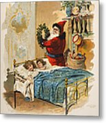 Night Before Christmas Metal Print