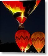 Night Of The Balloons Metal Print