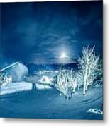 North Carolina Sugar Mountain Ski Resort Winter 2014 Metal Print