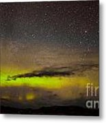 Northern Lights And Myriad Of Stars Metal Print