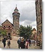 Nurnberg Germany Castle Metal Print