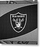 Oakland Raiders Metal Print
