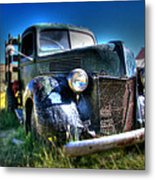 Old Truck At Bodie Metal Print