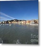 Old Village Sestri Levante Metal Print