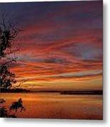 Outer Banks Sunset Metal Print