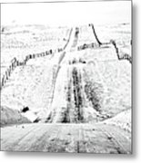 Over The Hill And Far Away Metal Print