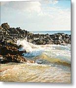 Paako Beach Makena Maui Hawaii Metal Print